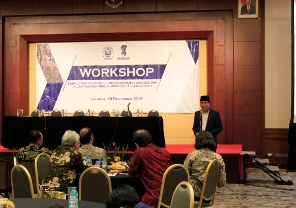 Workshop Penguatan Jejaring Alumni Universitas Diponegoro